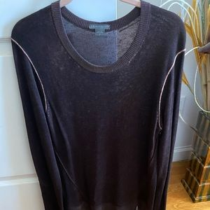 Men's Armani Exchange Brown Pullover Sweater!